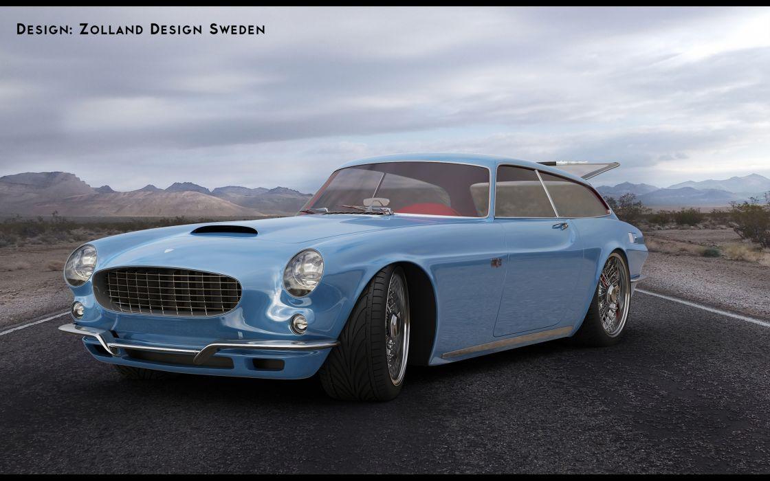 2013 1800 ZES Concept Design by Zolland Design supercar wallpaper