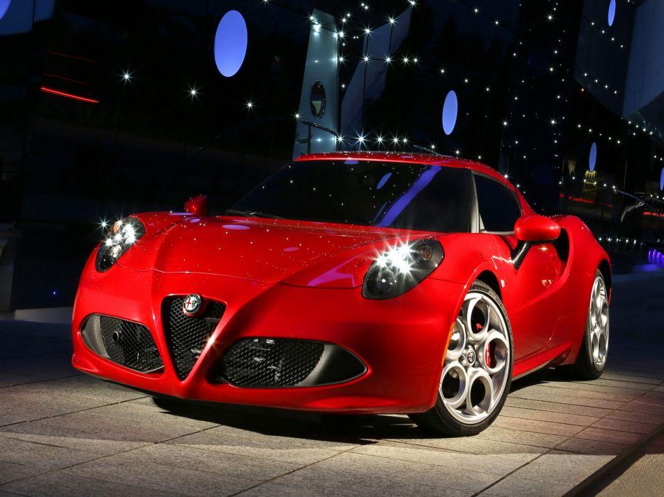 2013 Alfa Romeo 4C 970 supercar 4-c    h wallpaper