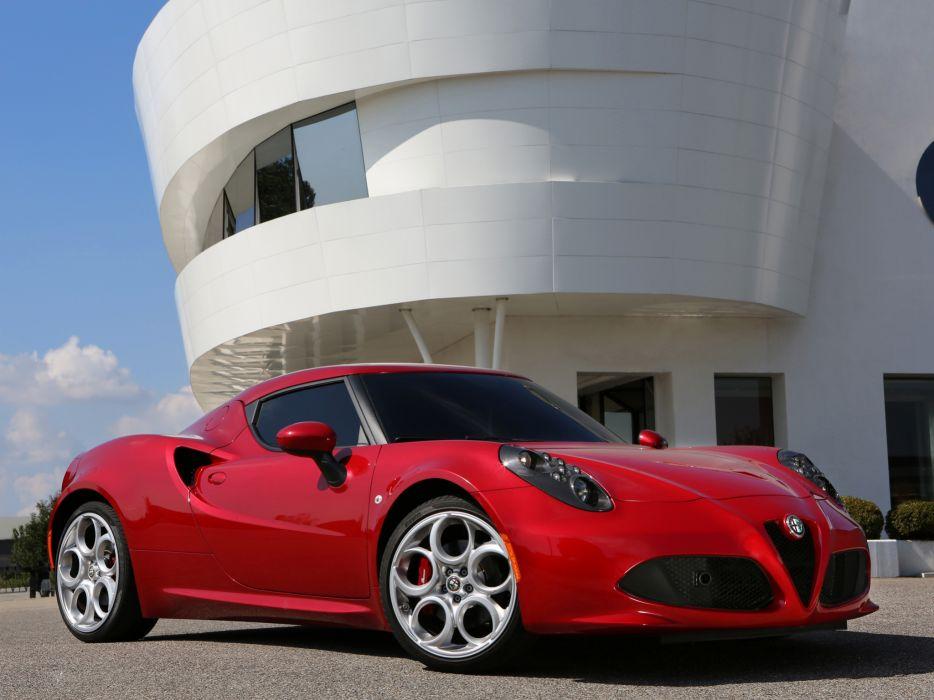 2013 Alfa Romeo 4C 970 supercar 4-c    hd wallpaper