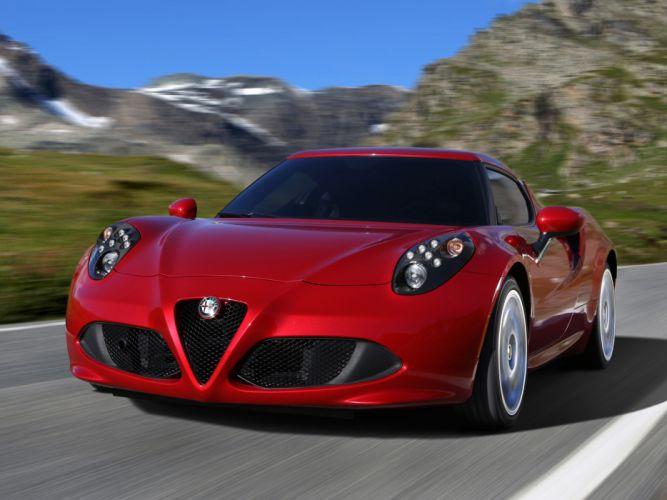 2013 Alfa Romeo 4C 970 supercar 4-c f wallpaper