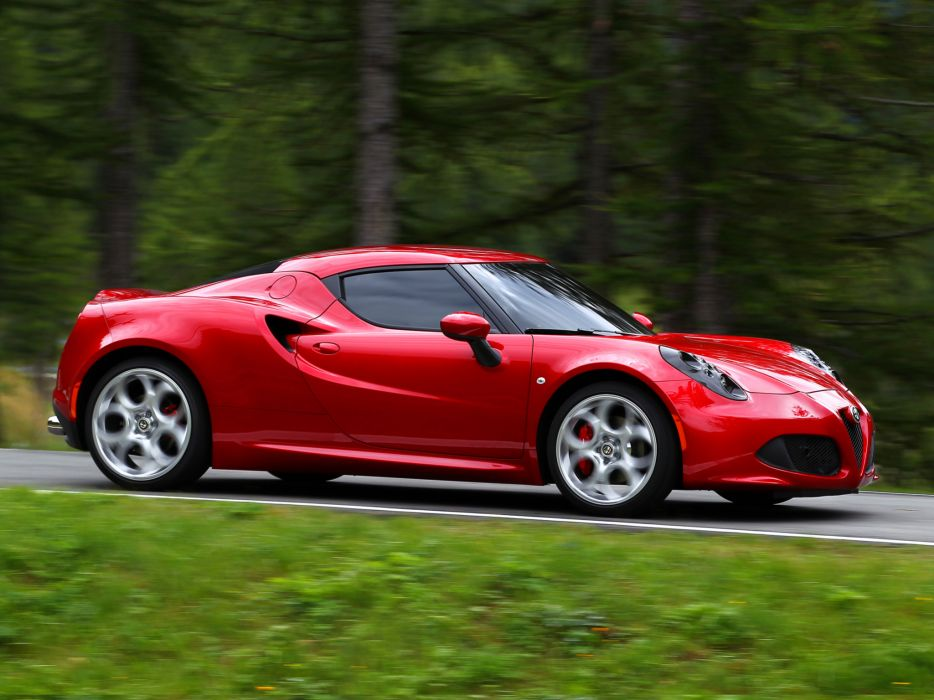 2013 Alfa Romeo 4C 970 supercar 4-c   g wallpaper