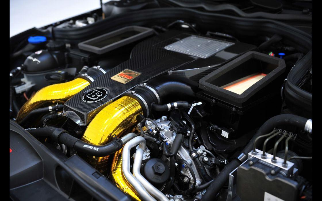 2013 Brabus Mercedes Benz 850-Shooting Brake Biturbo Static stationwagon tuning engine       f wallpaper