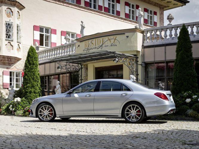2013 Mercedes Benz S-63 AMG W222 luxury gd wallpaper