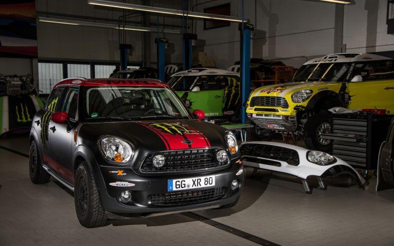 2013 Mini Countryman X-raid Service Vehicle race racing fs wallpaper