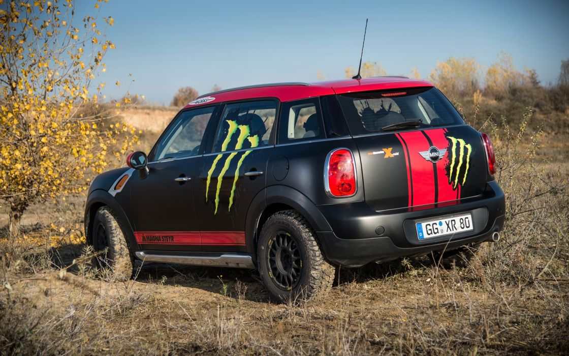 2013 Mini Countryman X-raid Service Vehicle race racing   g wallpaper