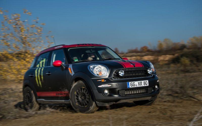 2013 Mini Countryman X-raid Service Vehicle race racing ga wallpaper
