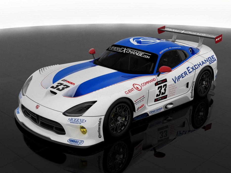 2014 Dodge SRT Viper GT3-R Riley-Technologies supercar race racing wallpaper