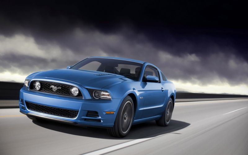 2014 Ford Mustang muscle h wallpaper