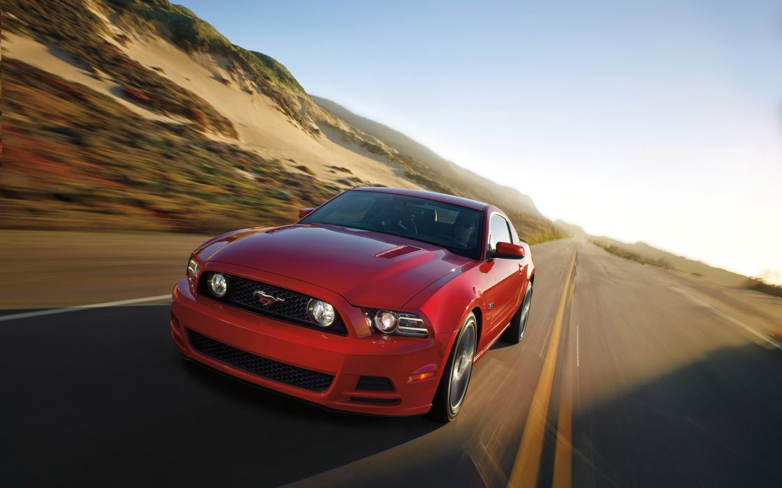2014 Ford Mustang muscle wallpaper