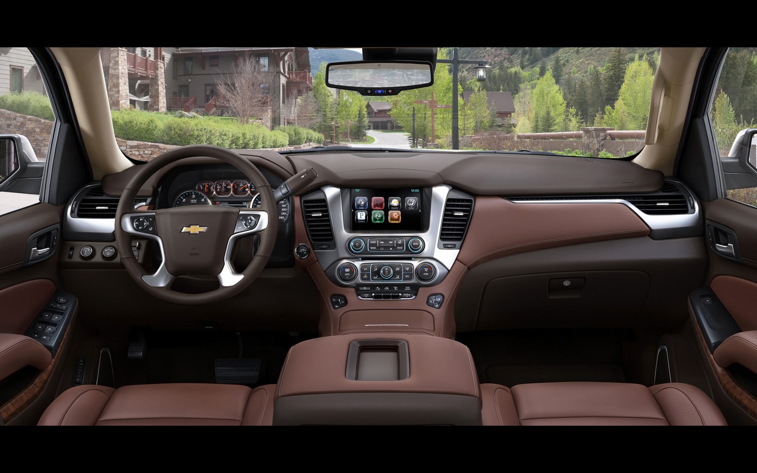 2015 chevrolet tahoe suv suburban interior h wallpaper 2560x1600 149400 wallpaperup. Black Bedroom Furniture Sets. Home Design Ideas