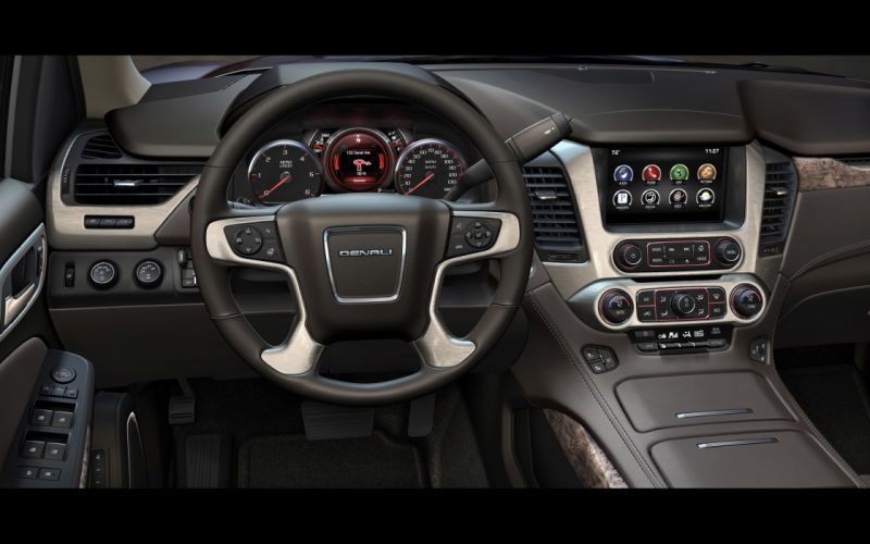 2015 GMC Yukon Denali intertior h wallpaper