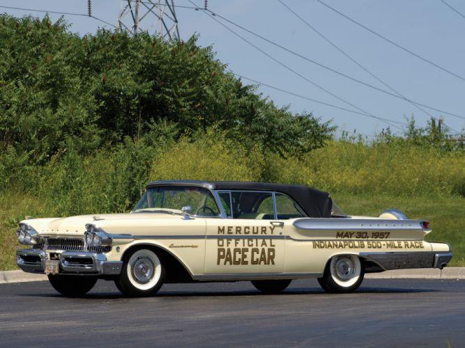 1957 Mercury Convertible Cruiser Indy 500 Pace Car retro race racing wallpaper