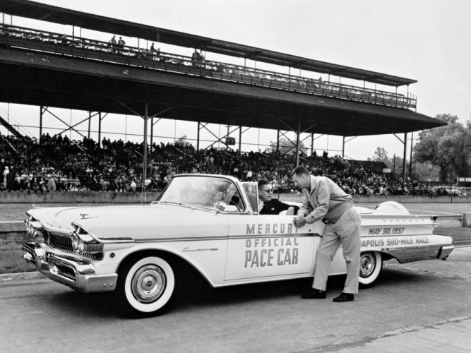 1957 Mercury Convertible Cruiser Indy 500 Pace Car retro race racing g wallpaper