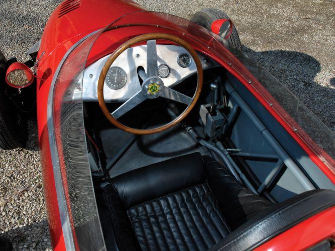 1959 De-Sanctis Formula Junior Race Car racing interior g wallpaper