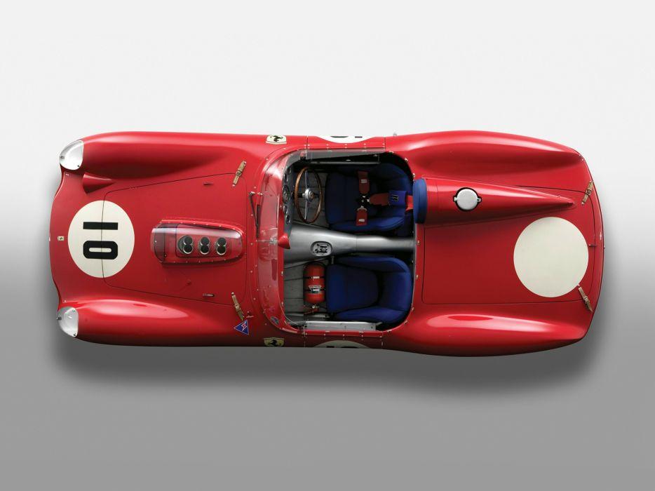 1959 Ferrari 246S Dino by Fantuzzi race racing retro 246 supercar interior     g wallpaper