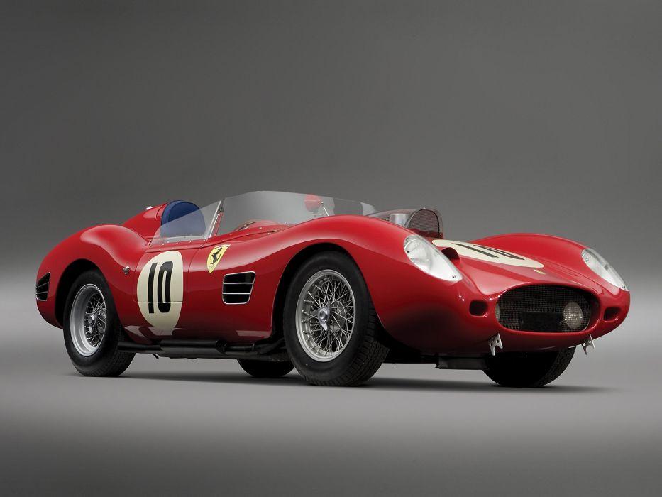1959 Ferrari 246S Dino by Fantuzzi race racing retro 246 supercar wallpaper