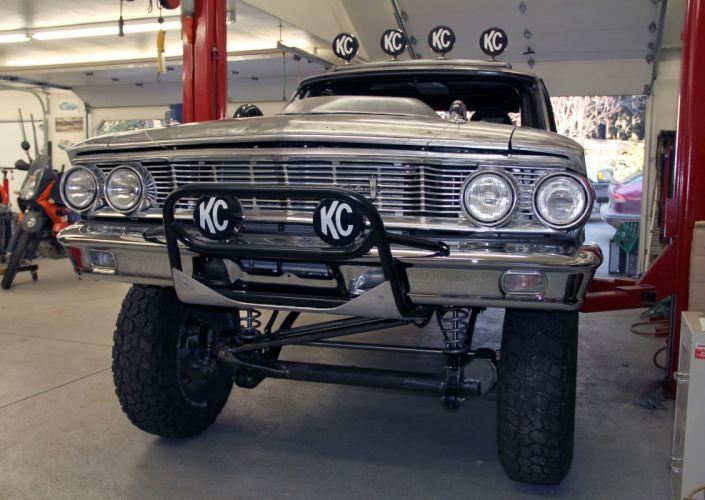 1964 Ford Galaxie for Mexican 1000 Baja offroad race racing classic muscle hot rod rods g_JPG wallpaper