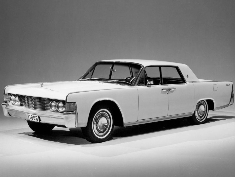 1965 Lincoln Continental Model 82 luxury classic    g wallpaper