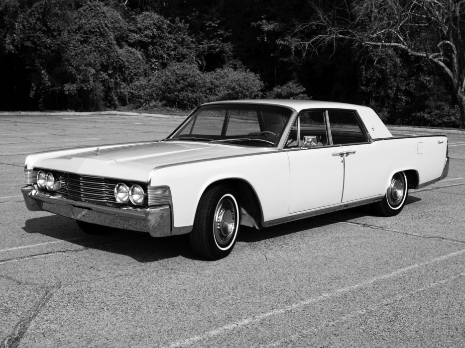 1965 Lincoln Continental Model 82 luxury classic   gg wallpaper