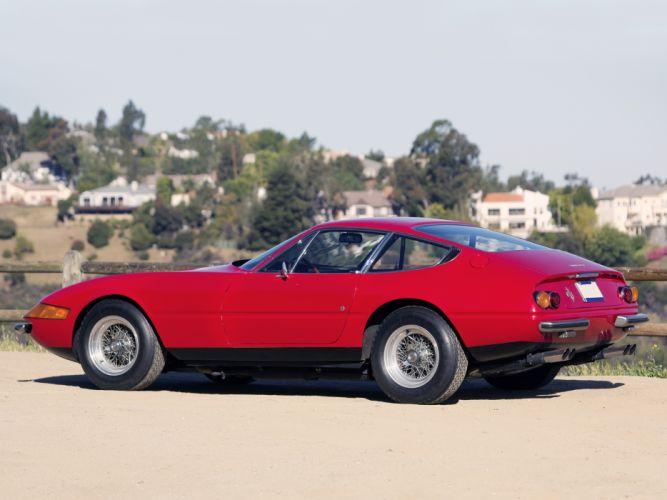 1968 Ferrari 365 GTB4 Daytona classic supercar f wallpaper