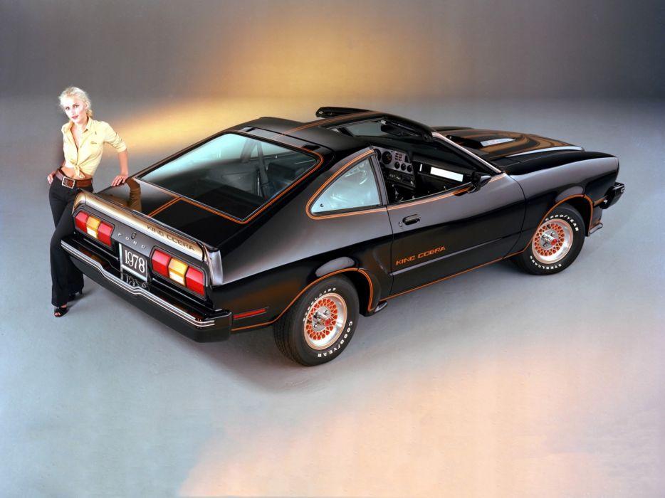 1978 Mustang King Cobra T-Roof muscle wallpaper