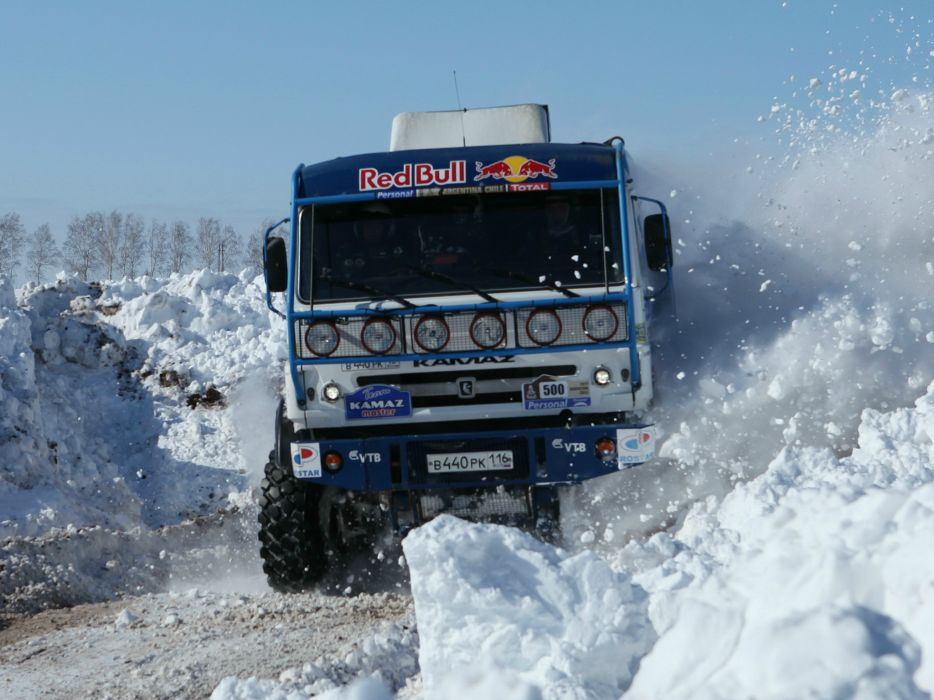 2010 Kamaz 4326-9 V-K dakar offroad 4x4 race racing truck      f wallpaper