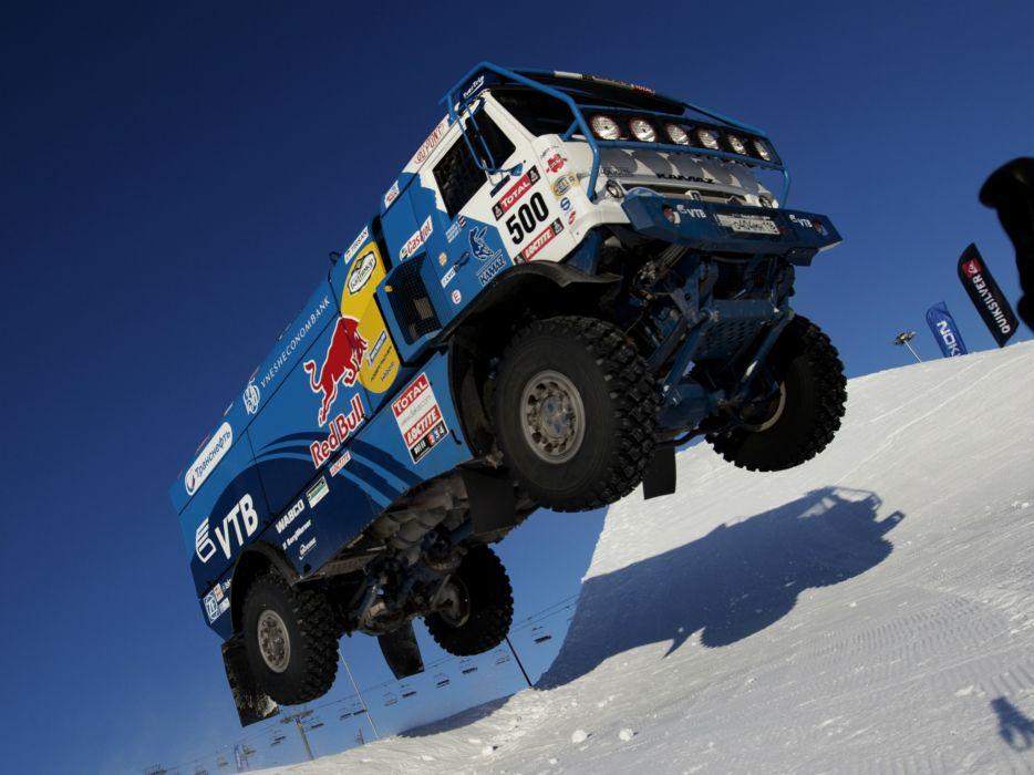 2010 Kamaz 4326-9 V-K dakar offroad 4x4 race racing truck      g wallpaper