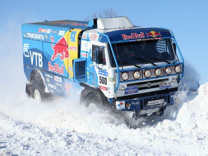 2010 Kamaz 4326-9 V-K dakar offroad 4x4 race racing truck d wallpaper