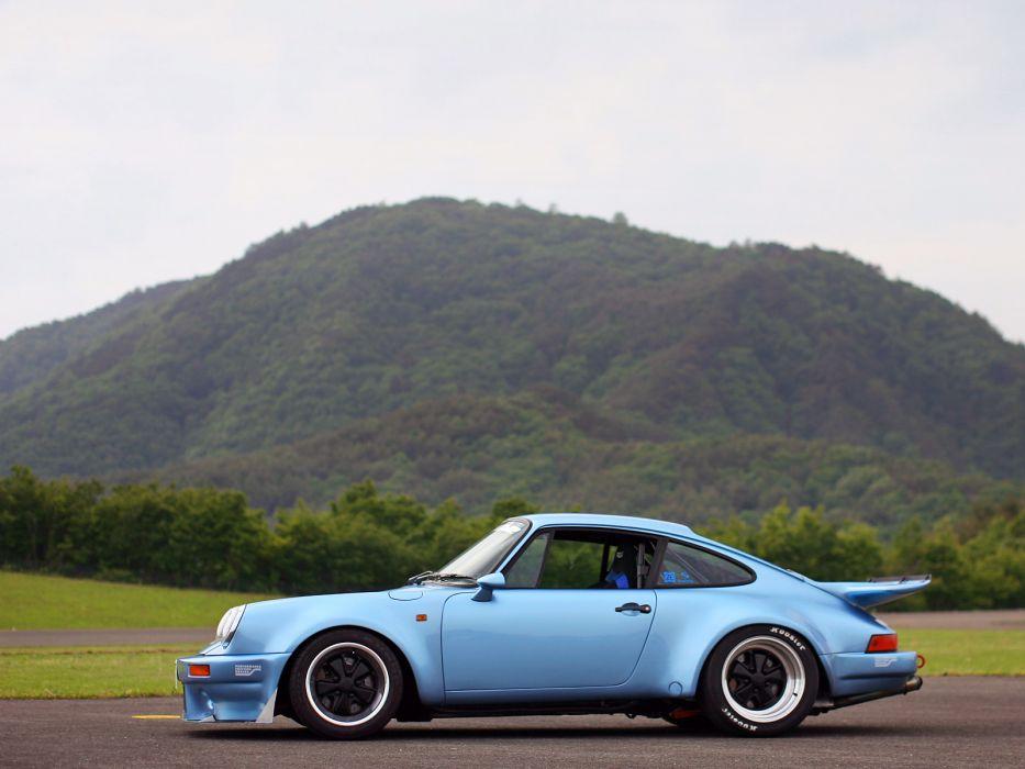 2012 Supermachine Porsche 911 930 V8 Turbo supercar v-8 wallpaper