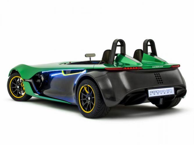 2013 Caterham AeroSeven Concept supercar g wallpaper
