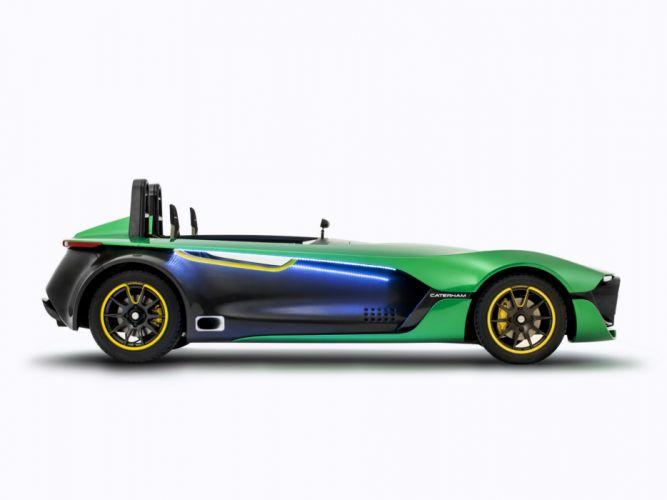 2013 Caterham AeroSeven Concept supercar h wallpaper