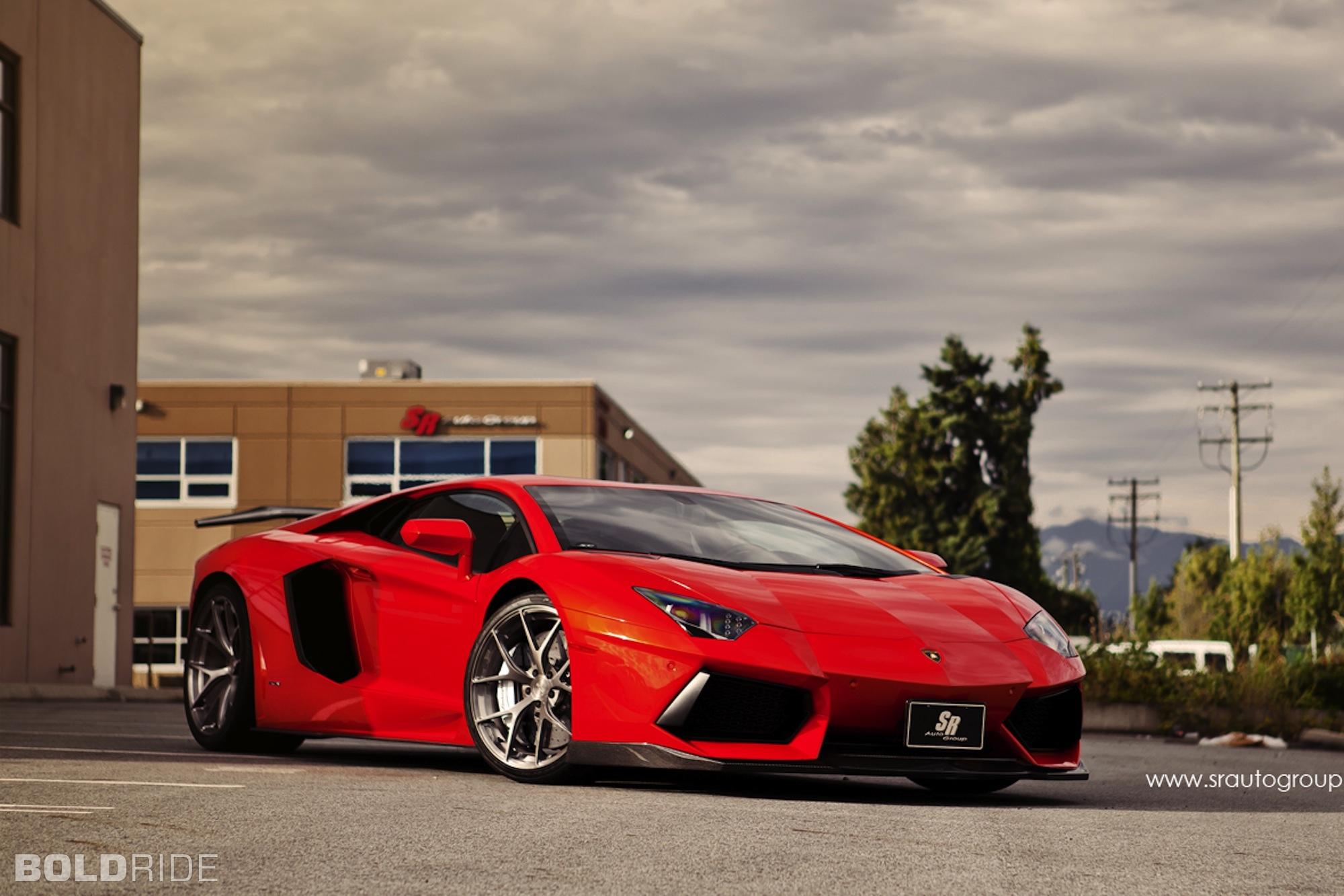 Sr Auto Group Lamborghini Aventador Supercar Wallpaper