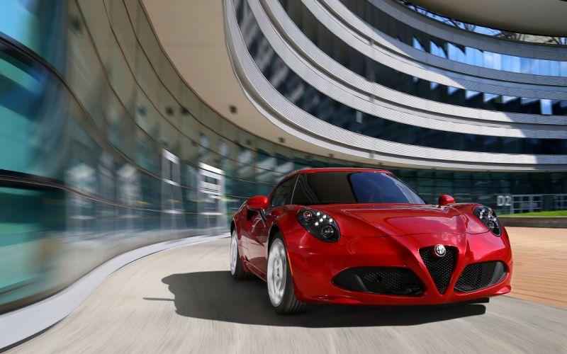 2014 Alfa Romeo Giulietta supercar fg wallpaper