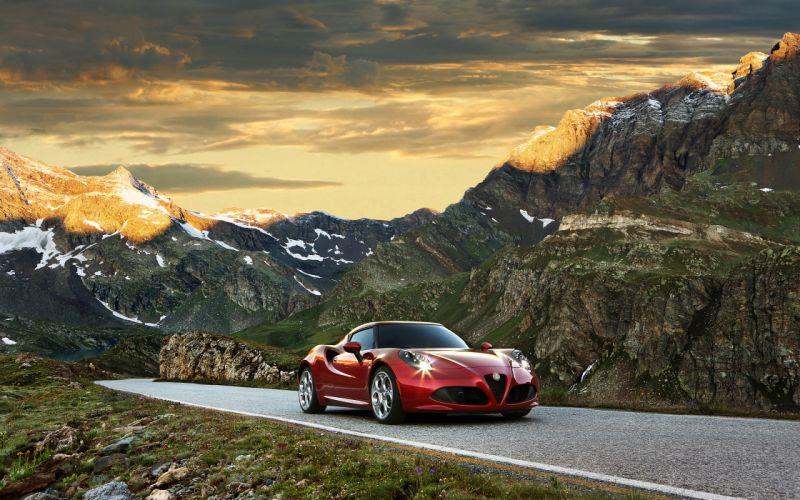 2014 Alfa Romeo Giulietta supercar wallpaper