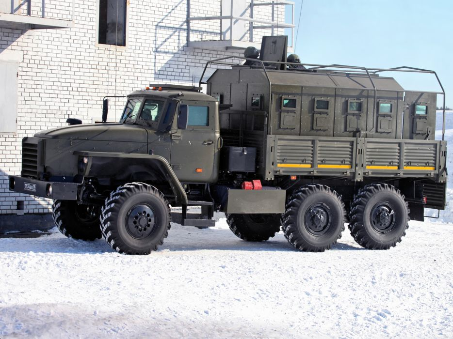Federal 45291 chassis Ural 4320 6x6 military russian g wallpaper