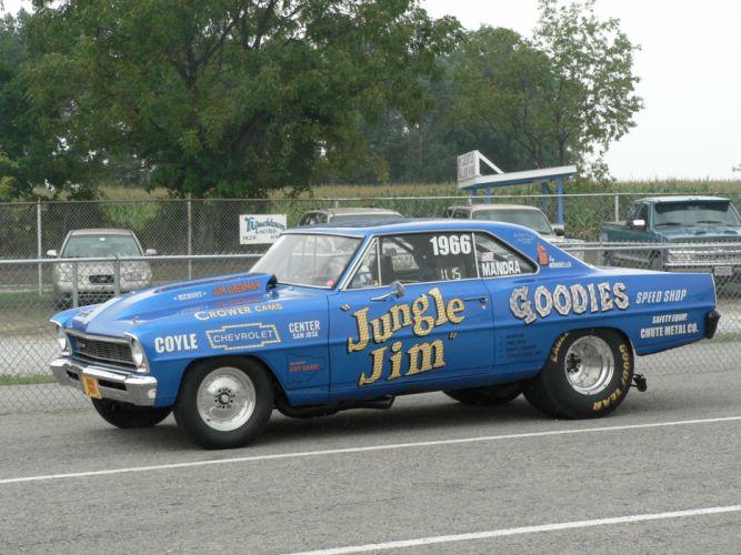 JUNGLE JIM funnycar funny nhra drag racing race hot rod rods chevrolet nova g wallpaper