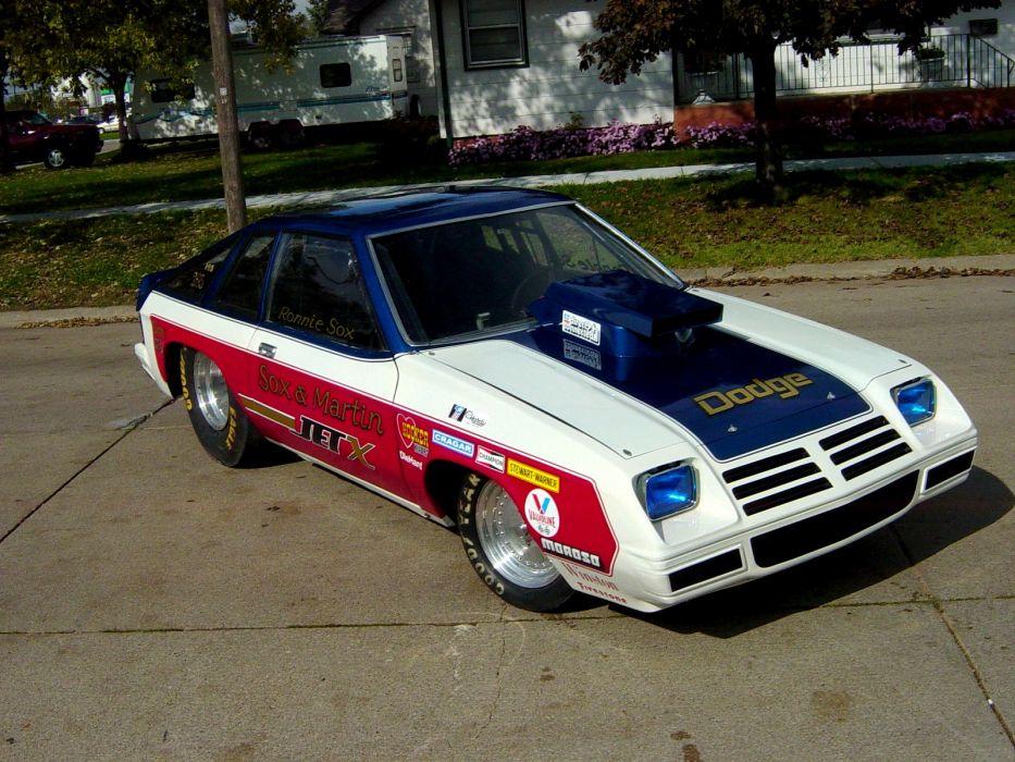 Sox and Martin Jet-X Dodge Omni drag racing race hot rod rods g_JPG wallpaper   1600x1200 ...