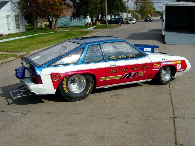 Sox and Martin Jet-X Dodge Omni drag racing race hot rod rods g_JPG wallpaper