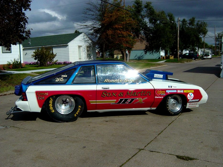 Sox and Martin Jet-X Dodge Omni drag racing race hot rod rods_JPG wallpaper