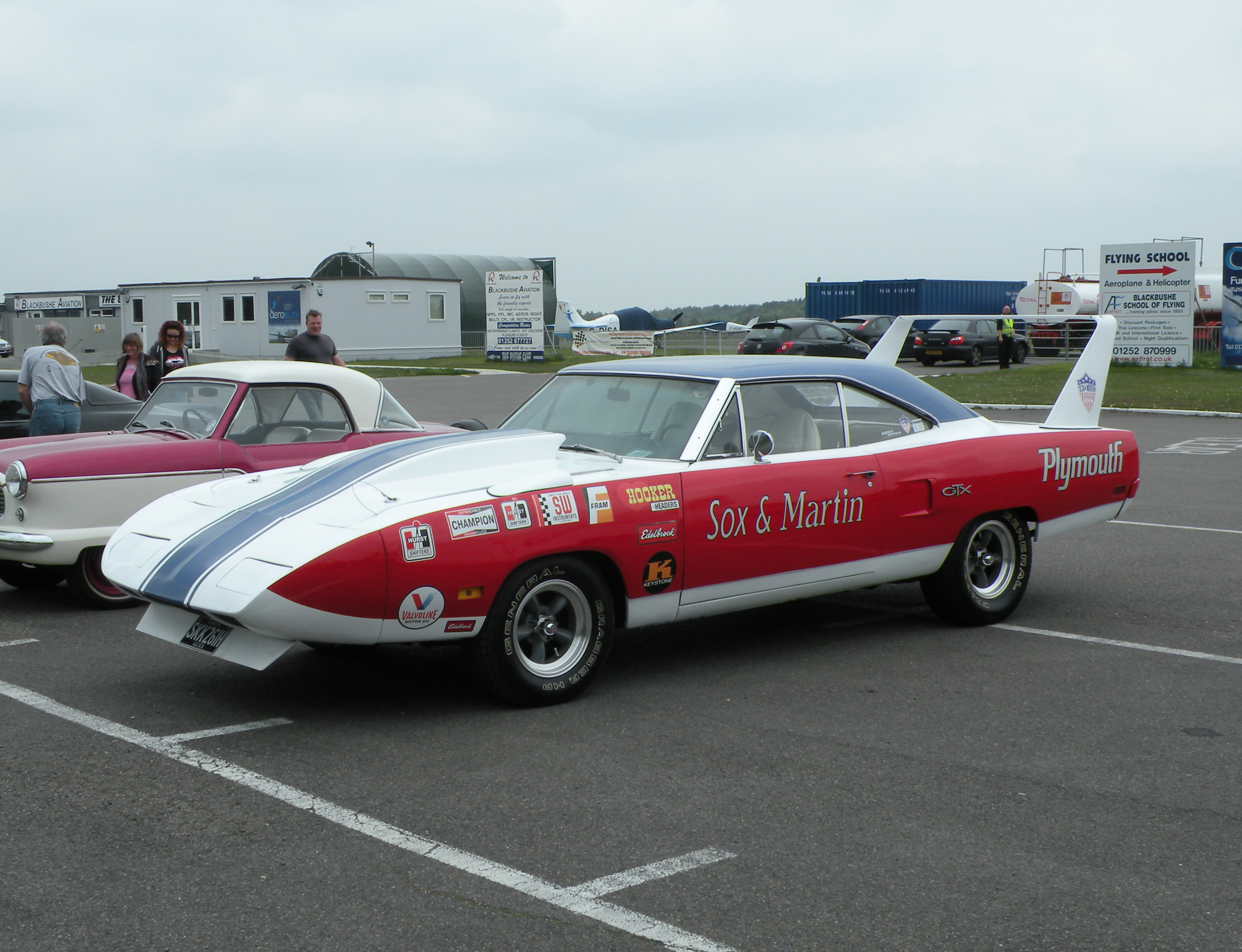 Sox And Martin Plymouth Superbird Drag Racing Race Muscle