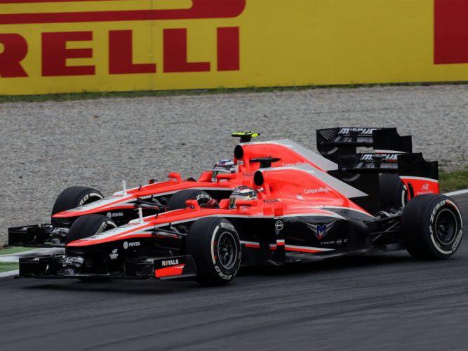 2013 Marussia MR02 formula one f-1 race racing g wallpaper