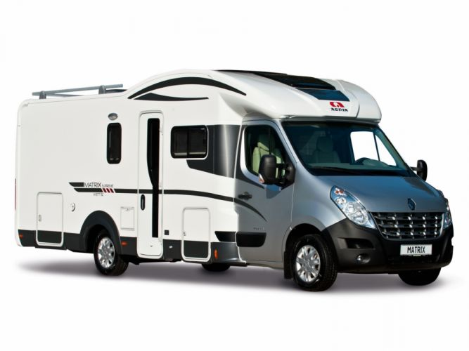 2011 Adria Matrix Supreme M motorhome camper wallpaper