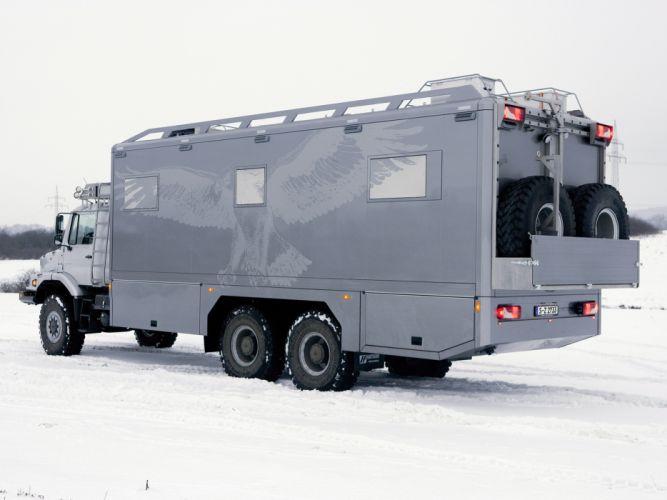 2011 Mercedes Benz Zetros 2733A Expedition Vehicle 6x6 offroad motorhome camper wallpaper
