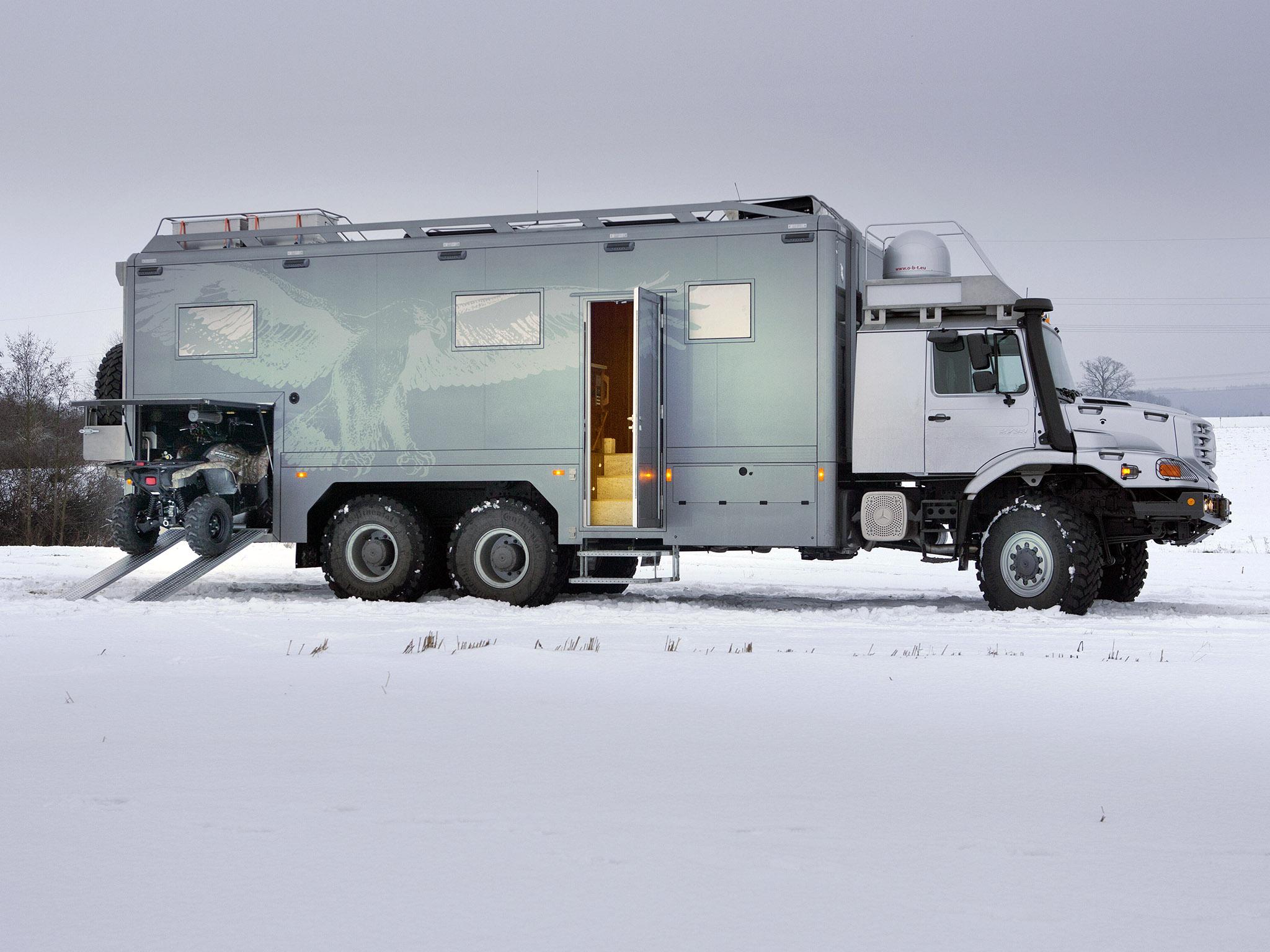 2011 mercedes benz zetros 2733a expedition vehicle 6x6 for Mercedes benz motor home