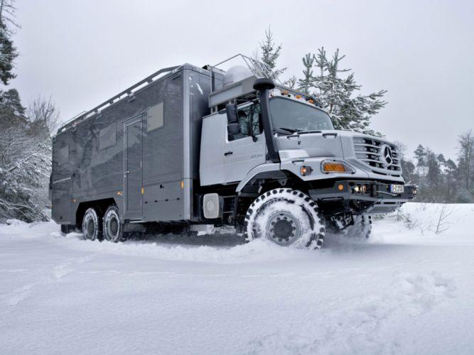 2011 Mercedes Benz Zetros 2733A Expedition Vehicle 6x6 offroad motorhome camper gh wallpaper