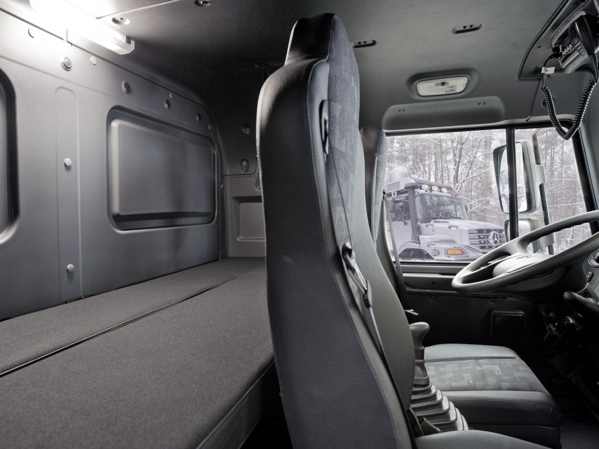 2011 Mercedes Benz Zetros 2733a Expedition Vehicle 6x6 Offroad Motorhome Camper Interior G Wallpaper 2048x1536 149652 Wallpaperup