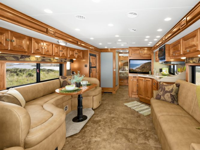 2011 Tiffin Allegro Breeze motorhome camper interior g wallpaper