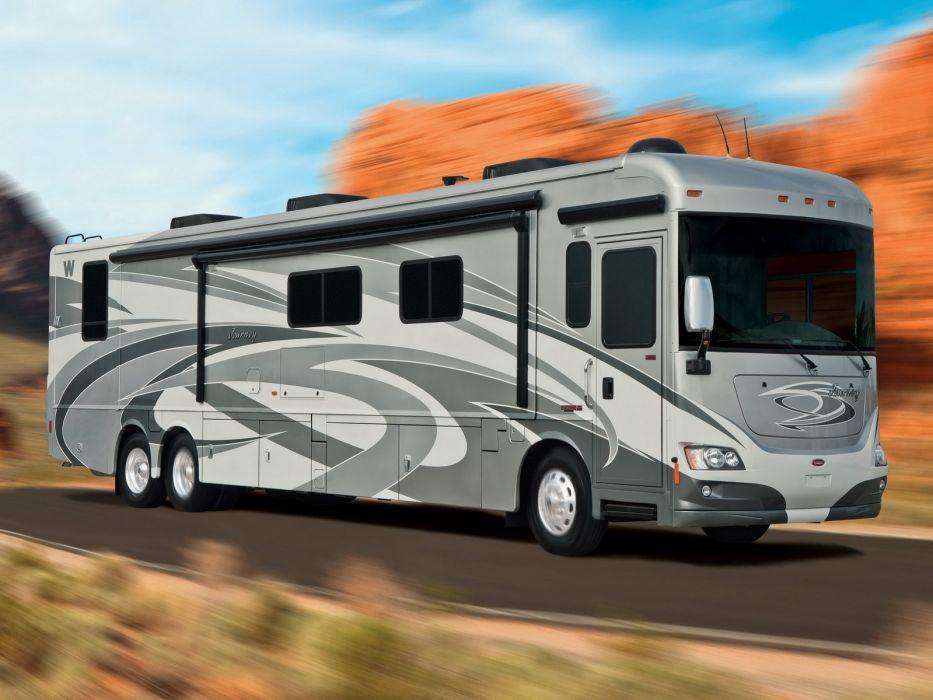 2012 Winnebago Journey 42E Motorhome Camper Wallpaper