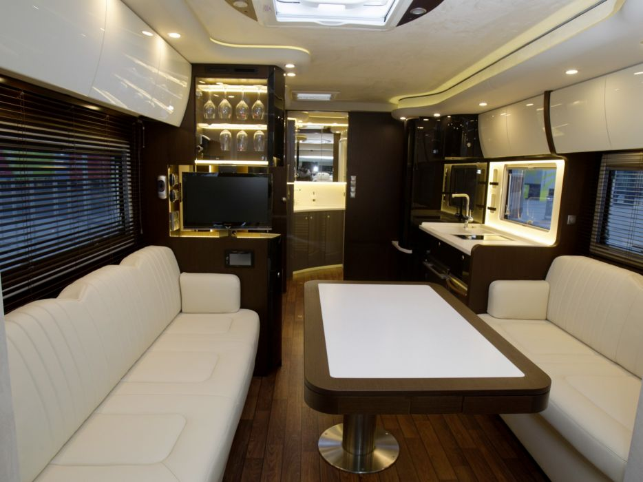 2013 Concorde Centurion 1200 MP4 Mothome Camper Semi Tractor Interior G  Wallpaper