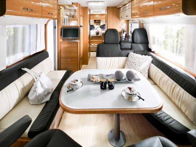2013 LMC Grand Explorer motorhome camper interior h wallpaper